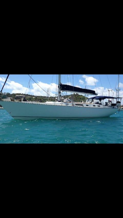Caribbean yacht located in Antigua