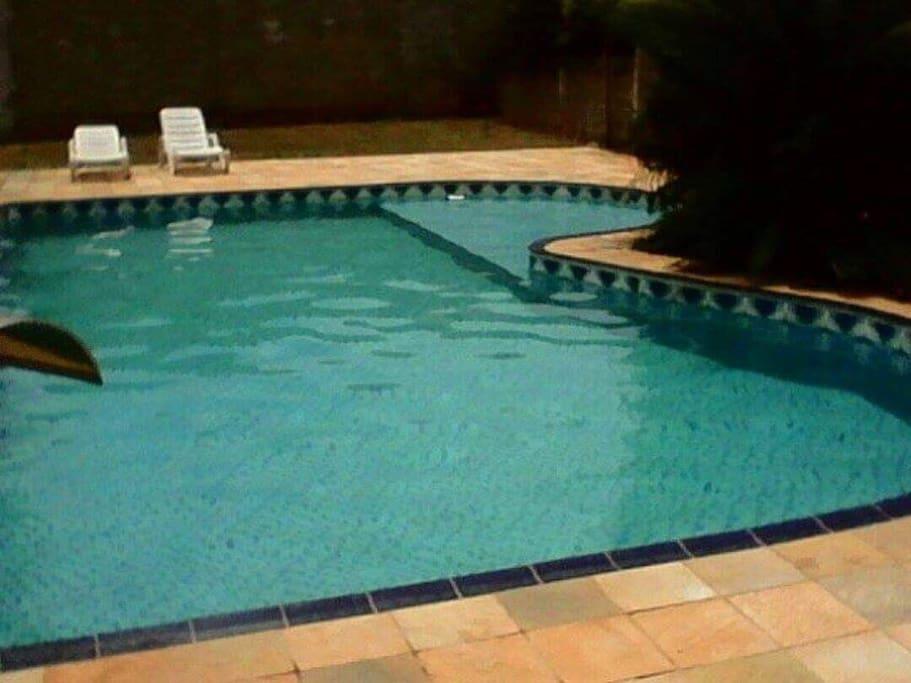 Área da piscina - Pool area