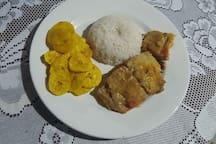 Comida típica de la región
