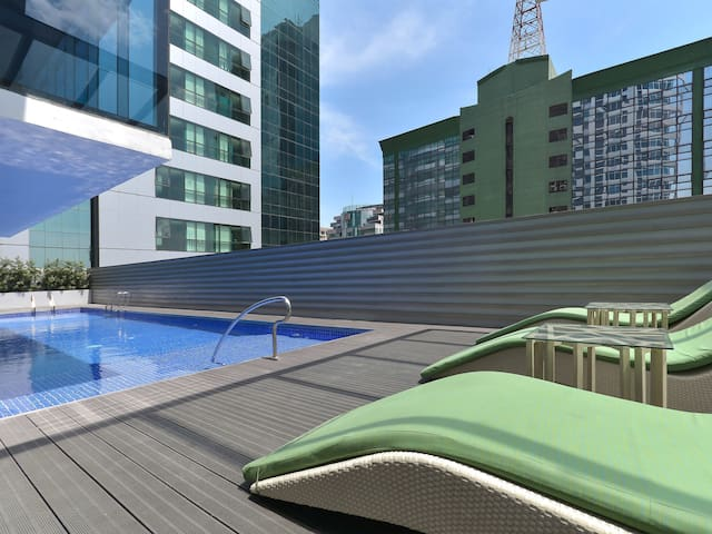 Fully Furnished Studio Unit 2 at Currency Ortigas - Pasig - Apartament