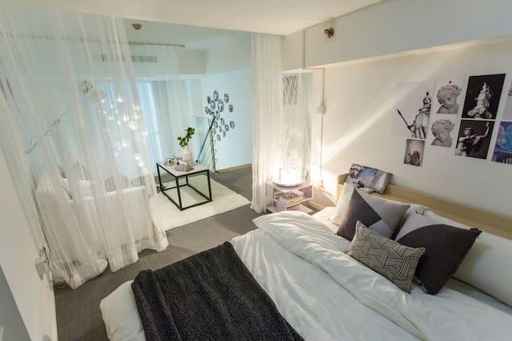 Fantasy&Luxury loft located in Zhongguancun