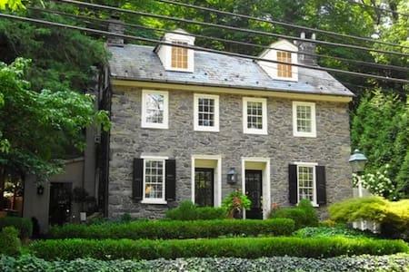 HISTORIC BUCKS COUNTY STONE HOME - New Hope - Haus