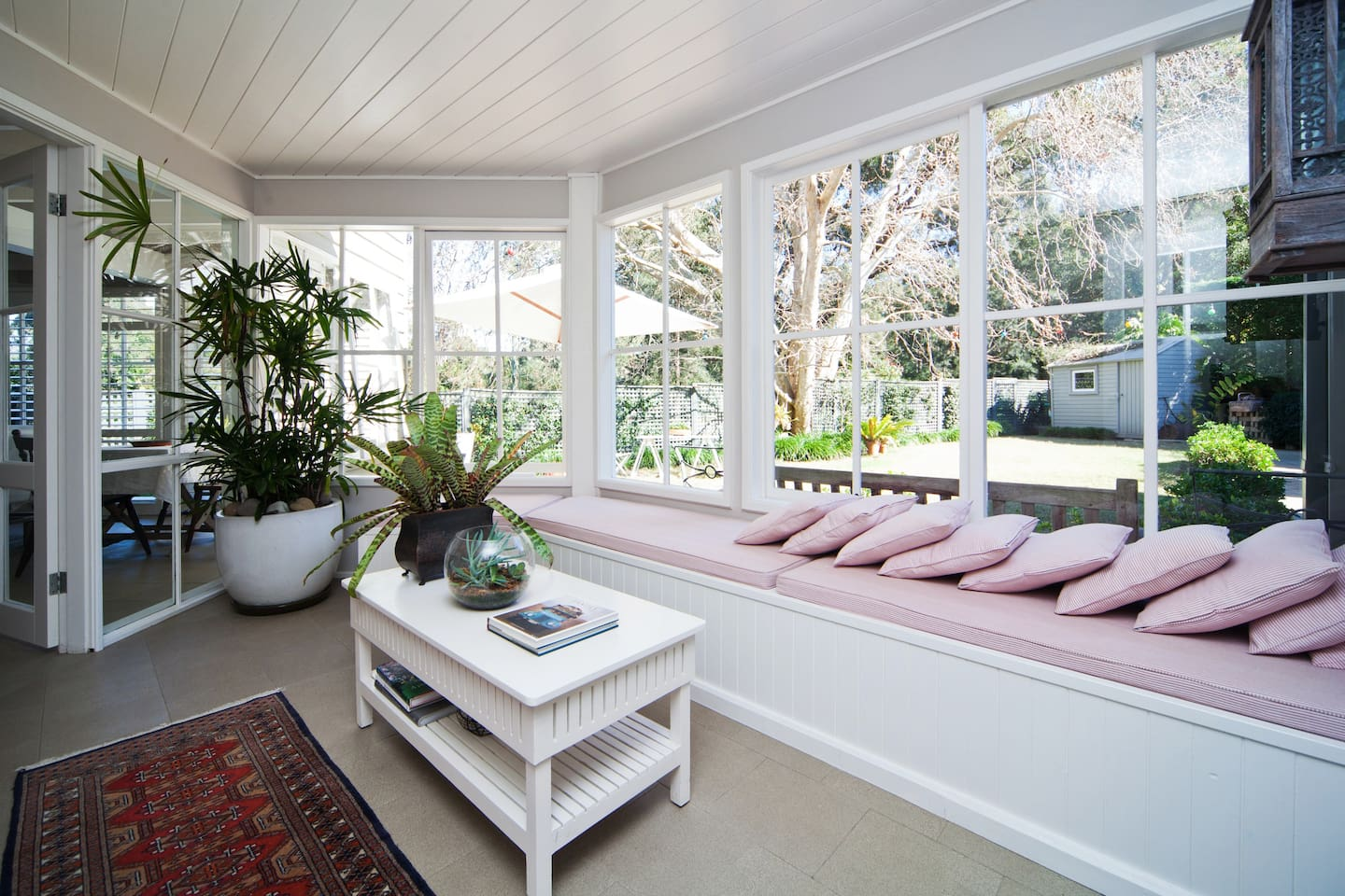 Sunroom. Curl up in the sun with a good book. Enjoy!