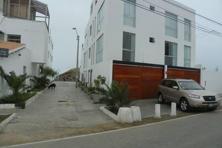 Dos departamentos en la entrada a la isla. - Punta Hermosa