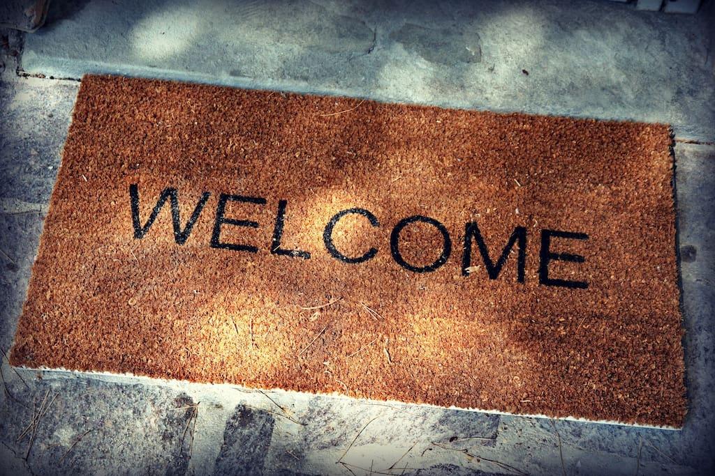 Welcome, il miglior modo per accogliere i nostri ospiti.
