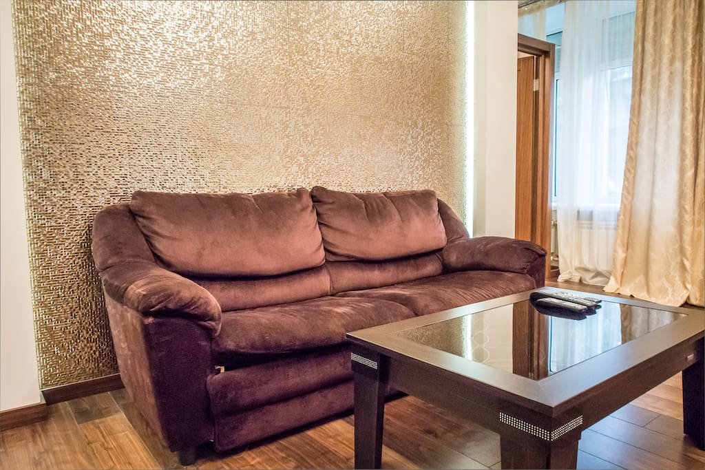 """This elegant property is very close to all attractions. It is only few minutes away (by walk) from the metro station """"Khreshchatik"""". Whether you are in Kiev for business or vacations, this apartment is the ideal choice."""