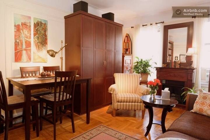 Gorgeous Cozy Private Room Manhattan NYC sleeps 3 - New York - Byt