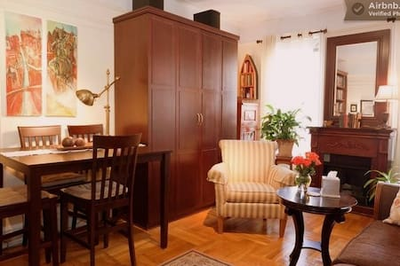Gorgeous Cozy Private Room Manhattan NYC sleeps 3 - New York - Daire