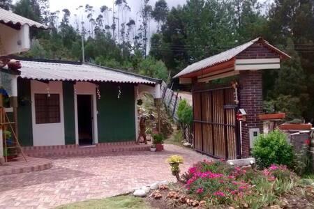 Paipa- Boyacá Casa de campo a 4 kms - Rumah