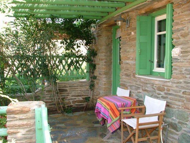 Green Boho House