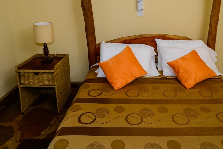 Double African Style Bed
