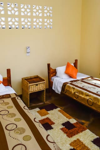 Single African Style Beds