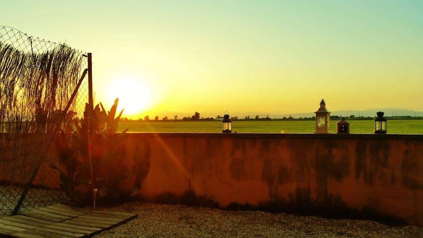 Apto. Jardín Privado Delta del Ebro - Amposta - Appartement