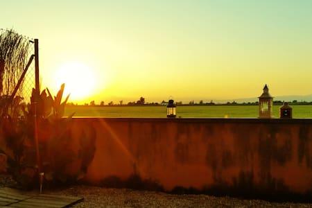 Apto. Jardín Privado Delta del Ebro - Amposta