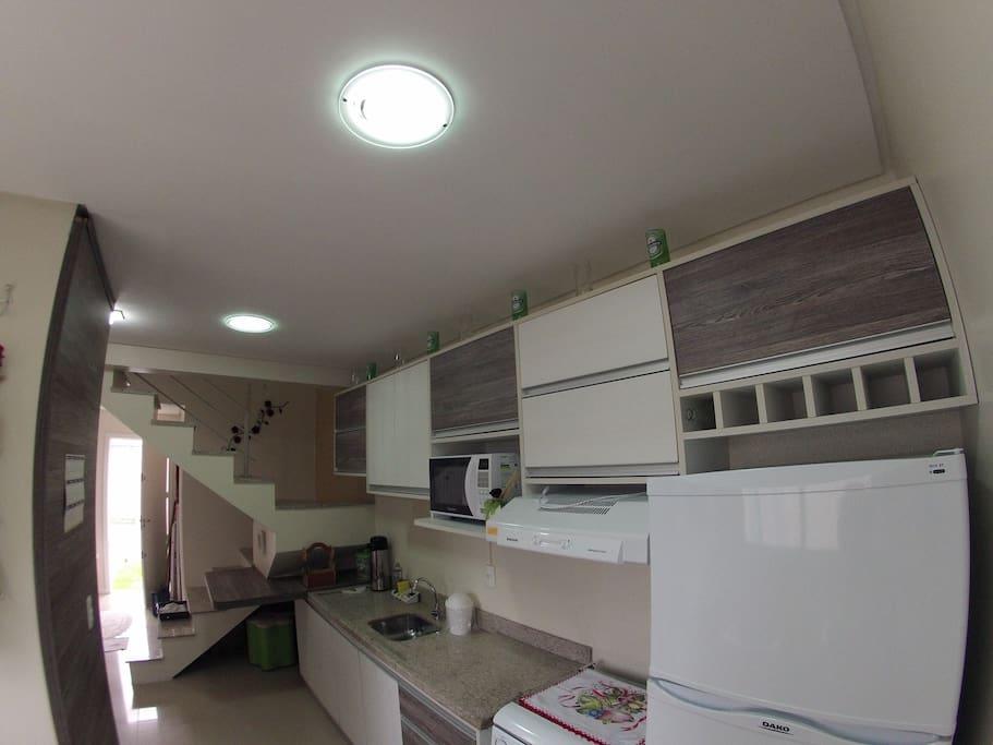 cozinha completa eletrodomésticos novos