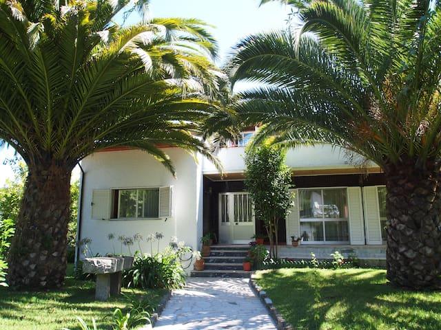 Grande maison familiale et piscine - Azões
