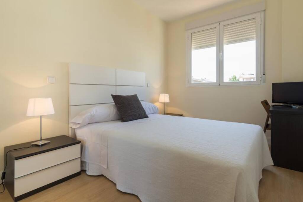 Habitaciones amplias y con un diseño muy cuidado.