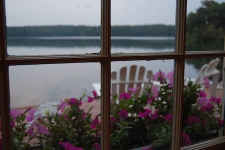 Charming Boathouse on Long Pond - Plymouth - Blockhütte