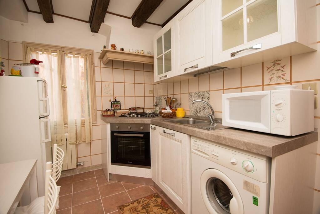 Kitchen-Washing machine