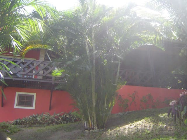 casa in jardin tropical frente mar - Santo André (Cabralia)  - Haus