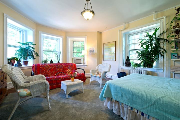 GREAT QUEEN SIZE GUEST ROOM W/COUCH - Philadelphia - Talo