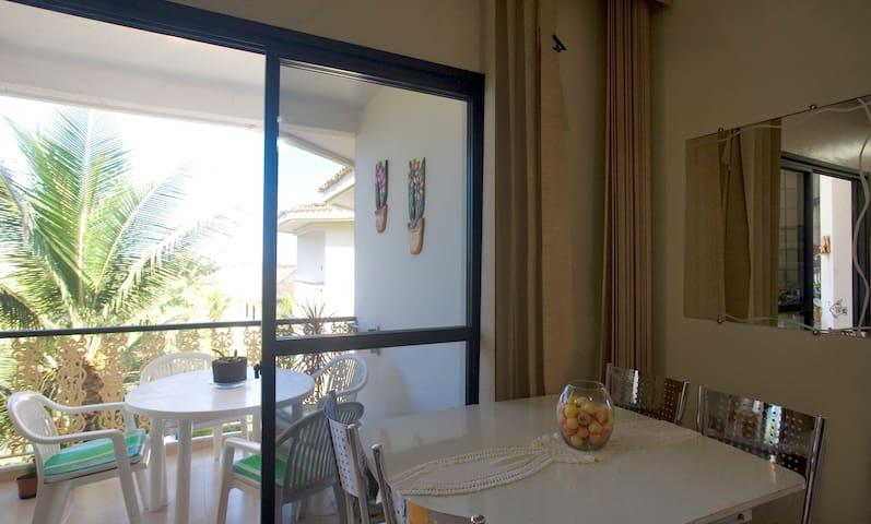 Dining+ balcony