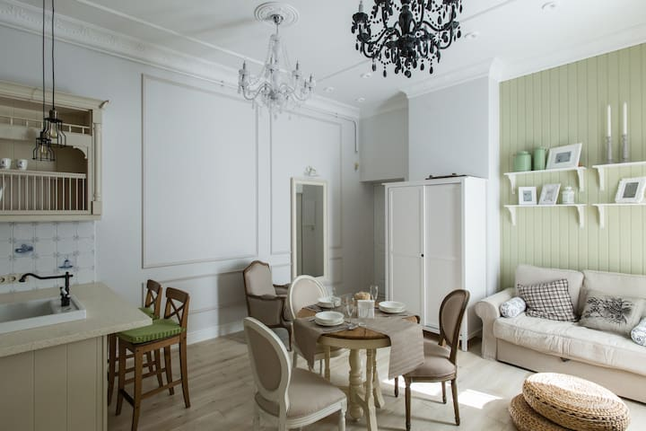 Luxury apartment in the center - Sankt-Peterburg - Departamento