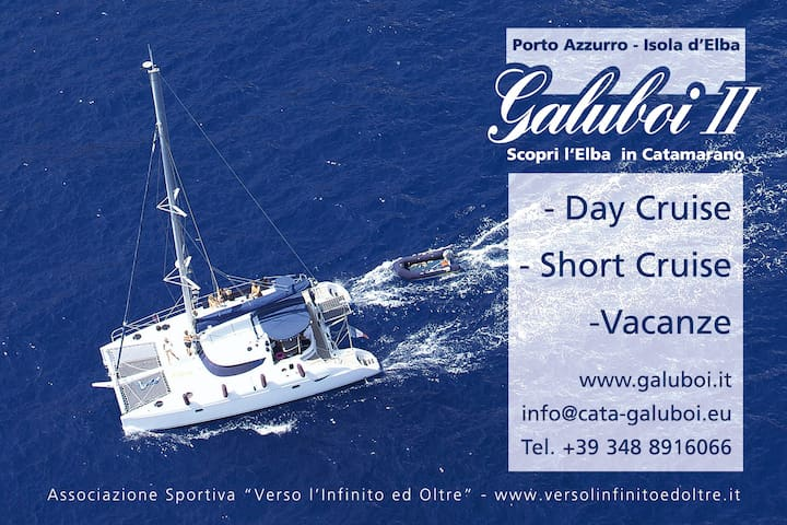 Catamarano da crociera Isola d'Elba
