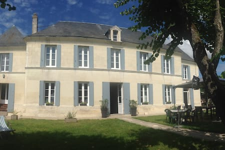 Demeure familiale du 19 ème siècle - Saint-Ciers-du-Taillon - Hus