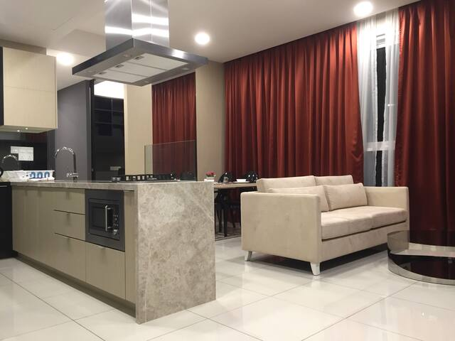 2 BR luxury condo on D'sara Uptown for 5 pax - Petaling Jaya