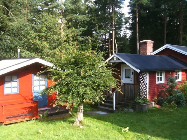 Hus i naturen, gode fiskemuligheder - Olofström S