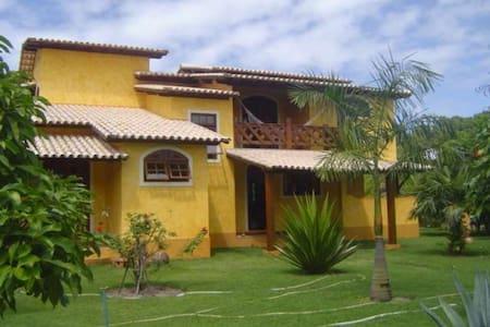 casa com jardim tropic. 100m do mar - Santo André