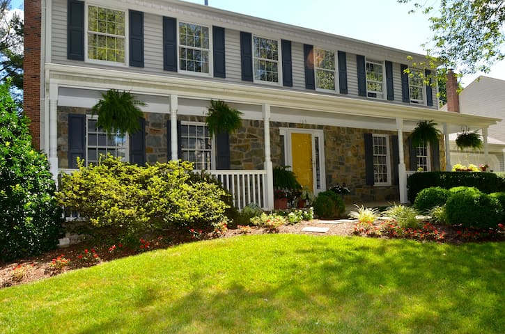 Private well appointed home - Gaithersburg - Hus