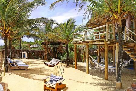 Casa pé na praia do rio verde para de 4 a 12 pess