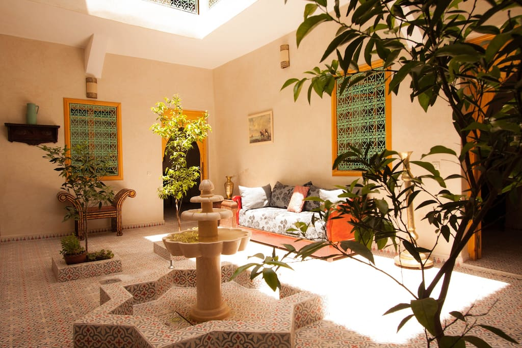 Riad inaka chambres d 39 h tes louer marrakech for Chambre d hotes marrakech