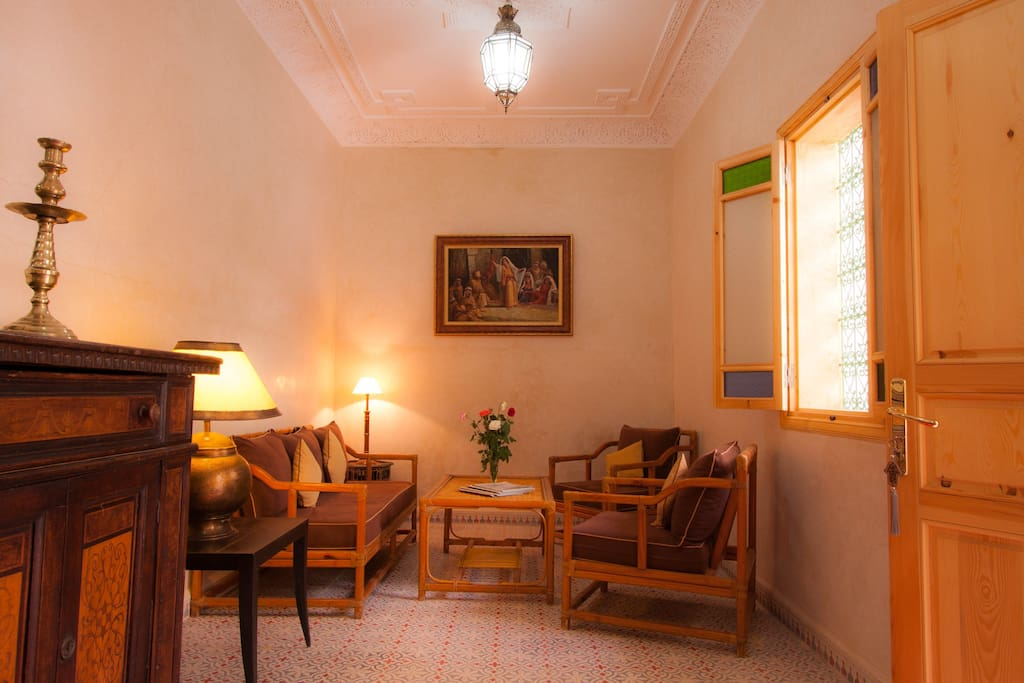 Riad inaka chambres d 39 h tes louer marrakech for Chambre d hote marrakech