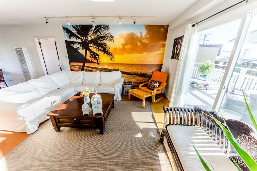2 Bed/1 Bath Hermosa Beach House