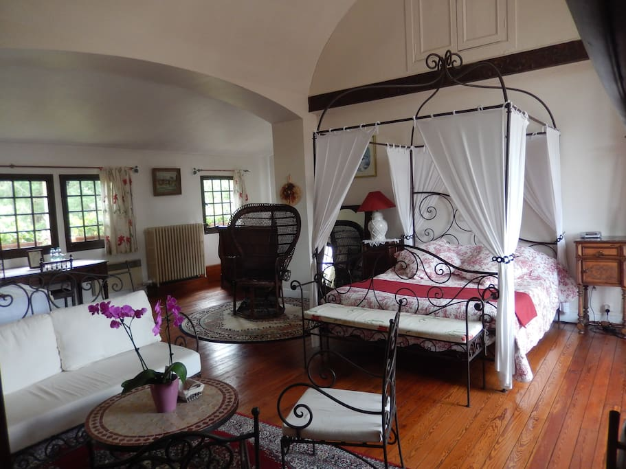 Chambre marguerite chambres d 39 h tes louer giverny for Chambre haute france