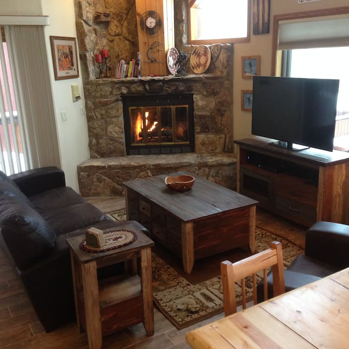 Family room with all new furniture!