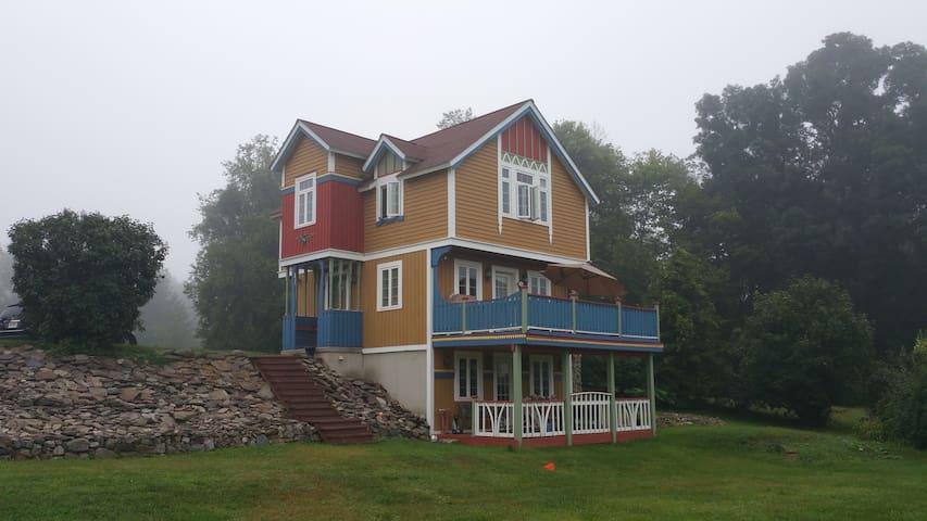 Swedish Viking Cottage in Endless Mountains, PA