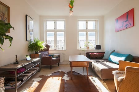 Big top floor apartment - Copenhaguen