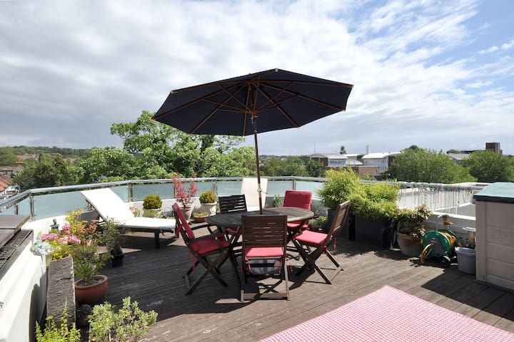 2BR penthouse with luxury terrace - London - Apartment