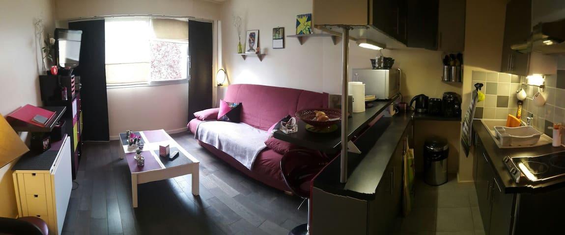 Studio bon état // centre ville - Rambouillet - Byt