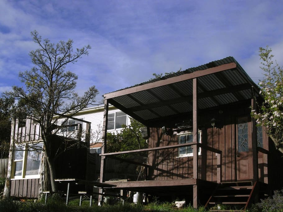 The cubby and studio (from front)