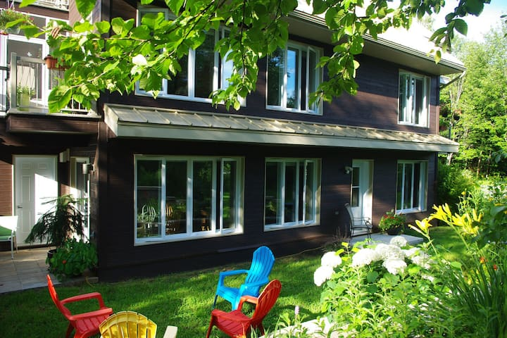 Rez-de-jardin près du lac Aylmer - Stratford