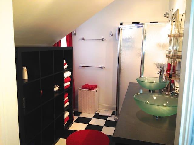 Luxury Apartment/Carriage House-Old New Castle DE - New Castle - Lägenhet