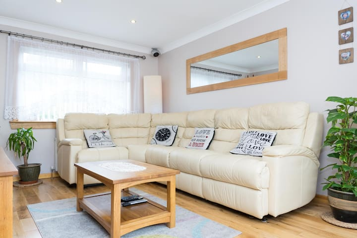 Relaxing House in Paisley / Glasgow - Paisley - Huis