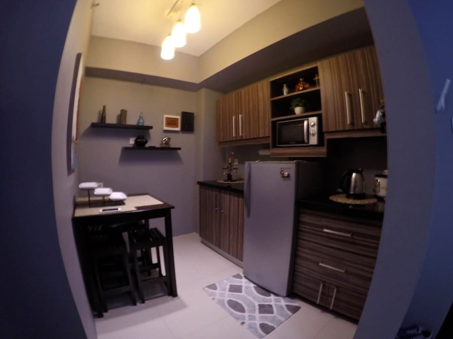 remodeled kitchen with electric stove