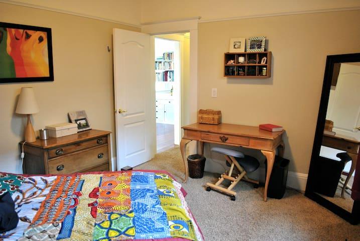 Craftsman Home with Sunny Backyard