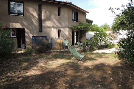 Maison conviviale jardin + terrasse - Clapiers